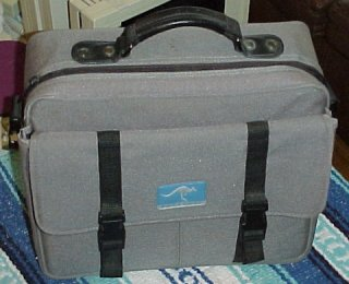 The Outbound came with a great carrying case made from cordura nylon, with the Outbound logo.